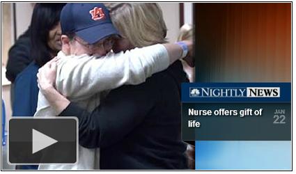 Happy News: RN Allison Bates donates kidney to a patient