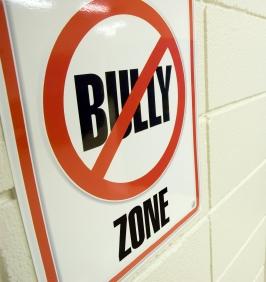 Zero tolerance: bullying