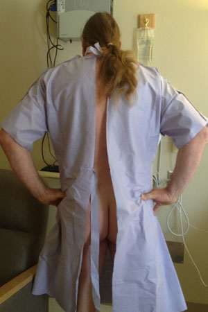 the hospital gown: misguided and malfunctioned | nurse talk