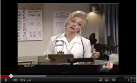 Mad TV Nurse
