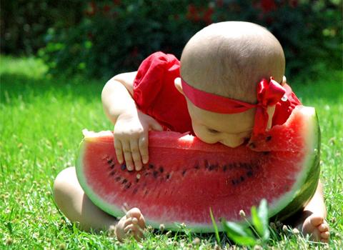 Mmmmmmmm. Watermelon.