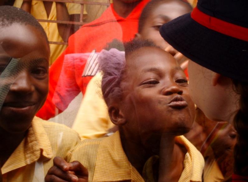 Clowning in Haiti