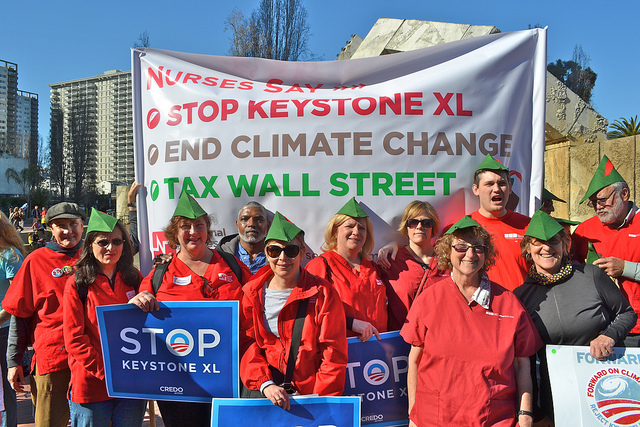 Nurses oppose Keystone